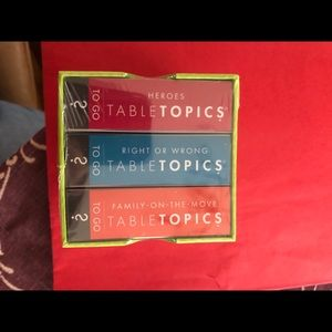 Table Topics Family Conversation Pack!!! New